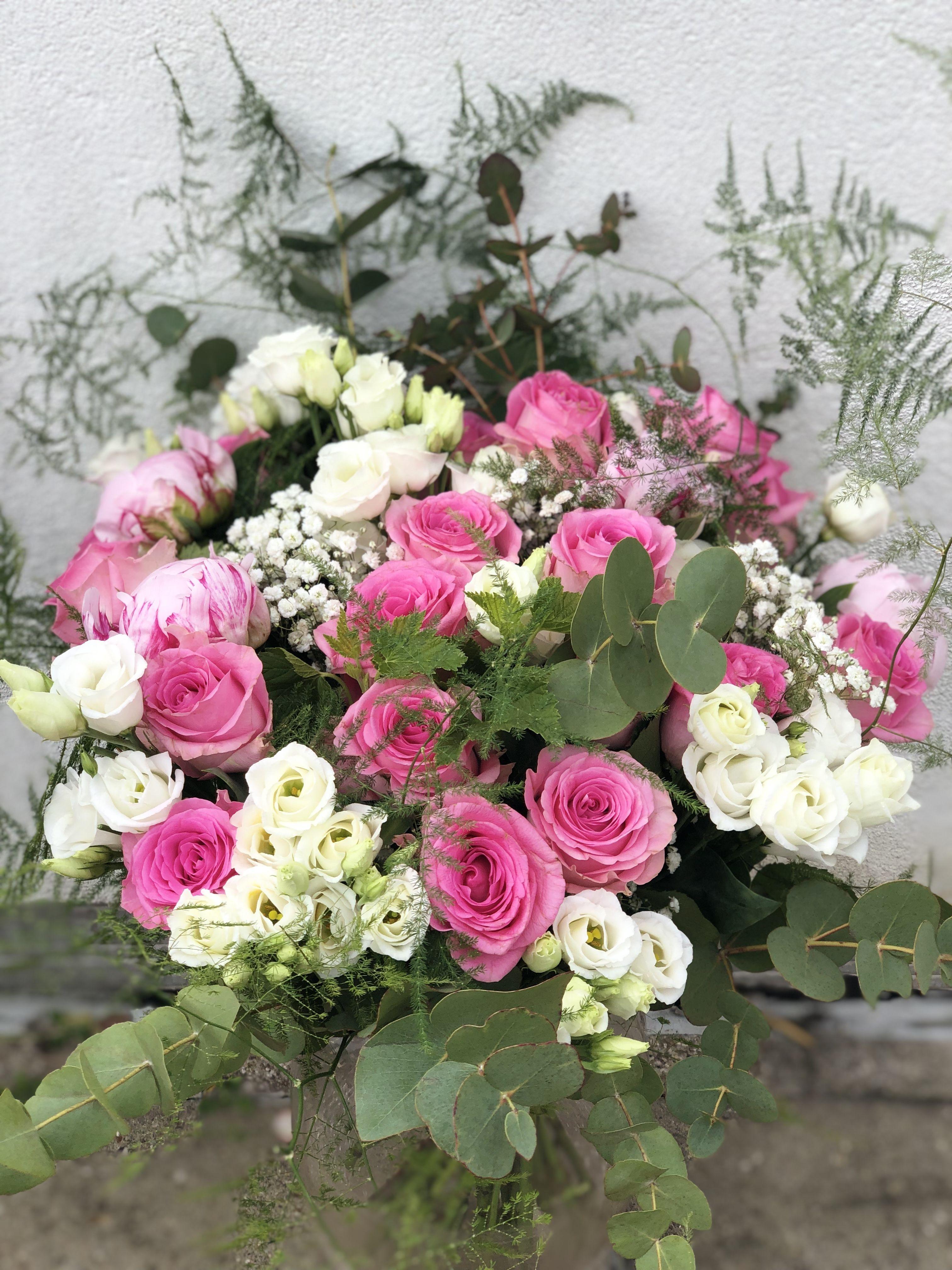 Bouquet Rose Et Blanc Mariage Flowers Flowers Flowers