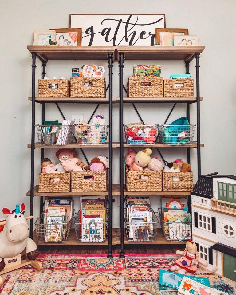 Get Organized: Playroom Storage - Cotton Stem