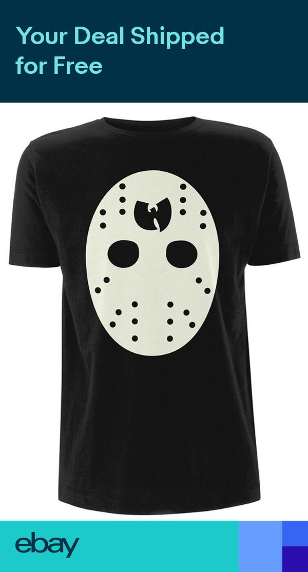 WuTang Clan White Mask TShirt NEW & OFFICIAL! Wu