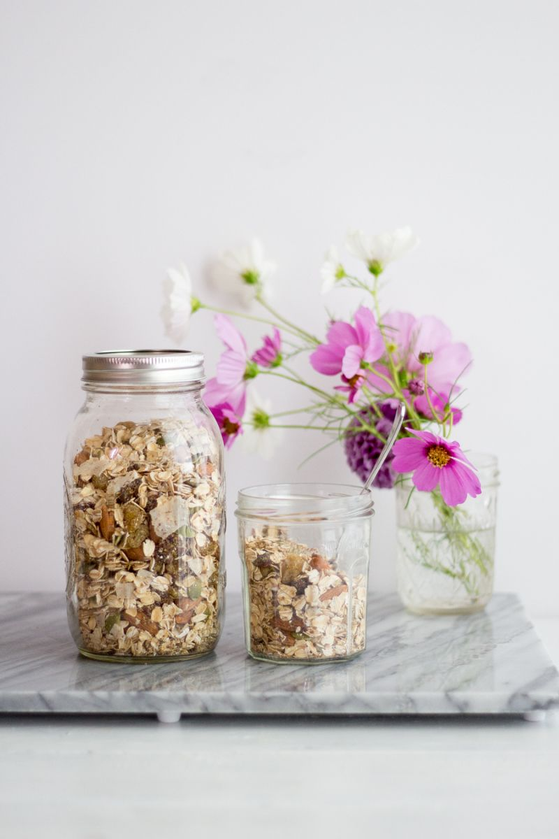 Lemon Ginger Muesli {gluten free, vegan} | Sprinkle with Salt