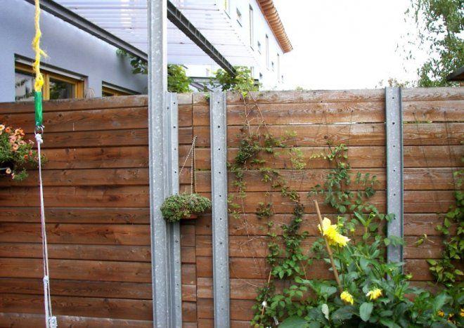 Superb L rmschutz Worauf kommt es an Schallschutzw nde f r Garten und Terrasse