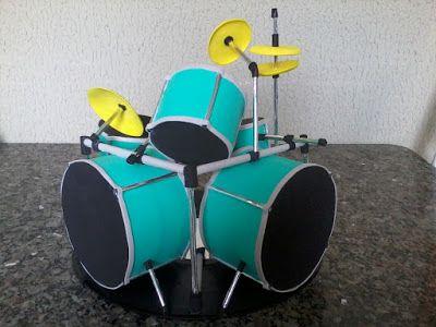 Roberto Pradoster: Bateria em E.V.A. 3D