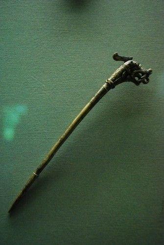 Cloak Pin Hedeby original - Viking Museum Haithabu