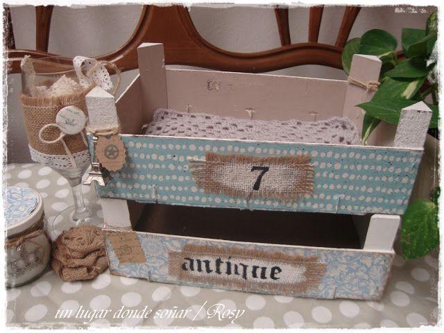 Cajas de fresas cajas fruta pinterest - Caja fruta decoracion ...
