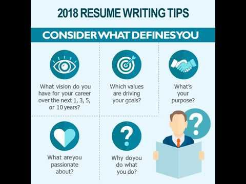 2018 Resume Writing Tips - update update your resume, advance your