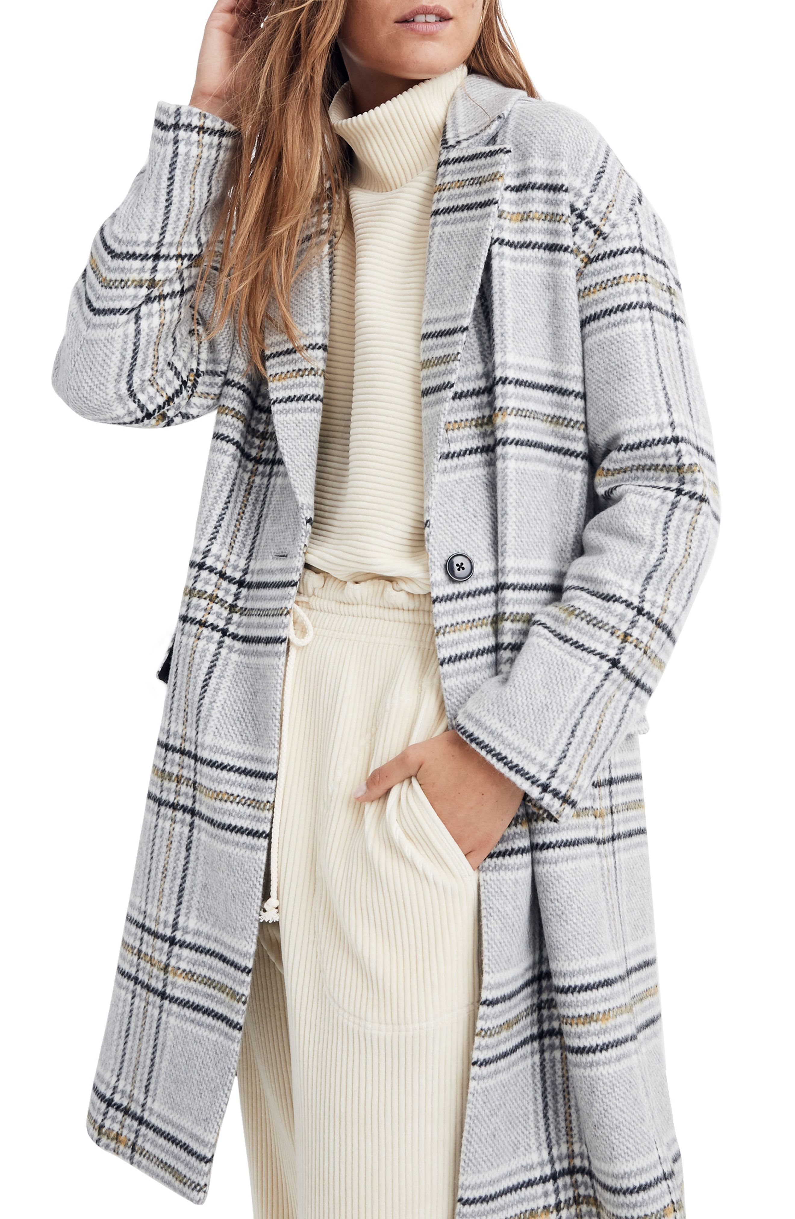 Madewell Plaid Bryant Coat available at  Nordstrom  9b4b18e38