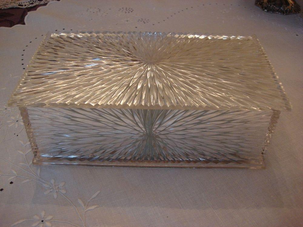 Celebrity Jewelry Box Lucite Plastic Vanity Dresser Box Dresser