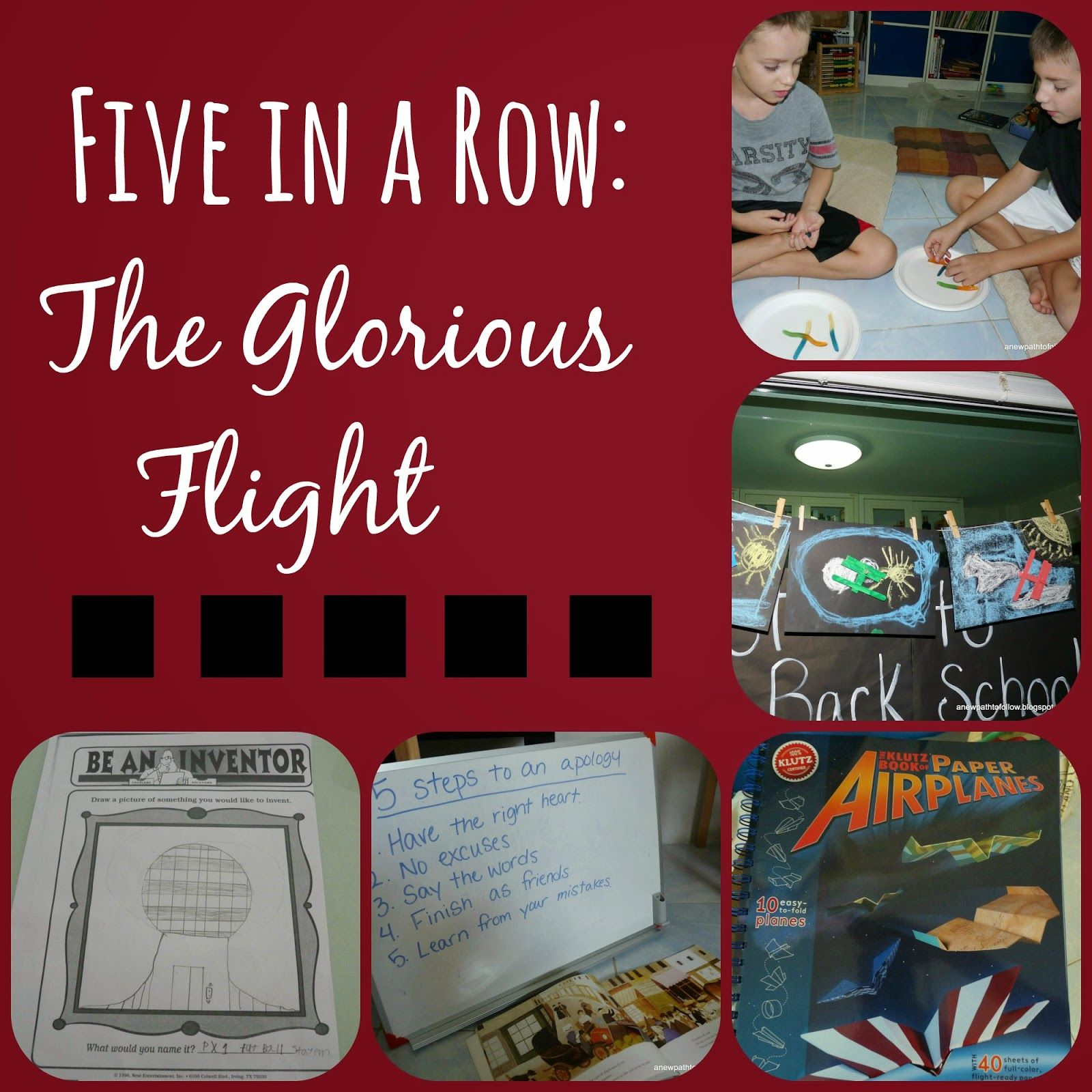 Photo of The Glorious Flight {FIAR}