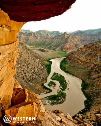 Beautiful Desolation Canyon and the Green River in Utah #whitewater #rafting #vacation