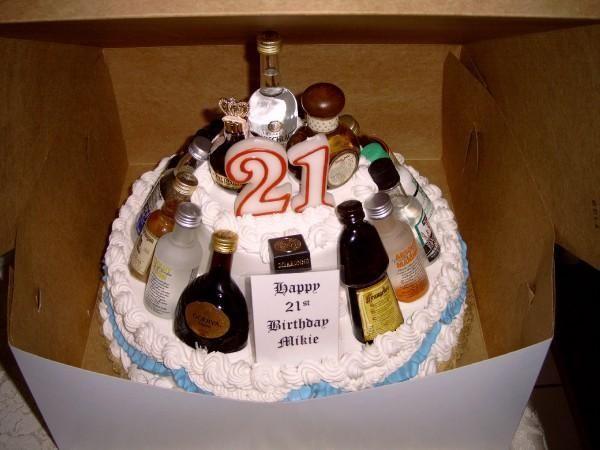 Beer Bottle Cake Decorations Delectable Birthday Cake Made Out Of Beer Bottles  Httpdrfriedlanderdvm Inspiration Design