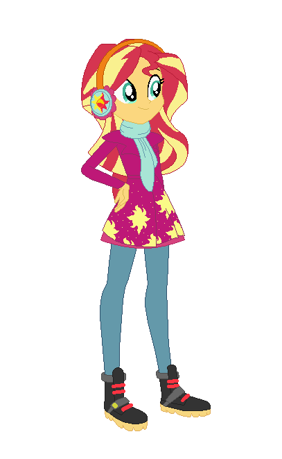 818582769564 Sunset Shimmer s Winter Outfit by Allegro15