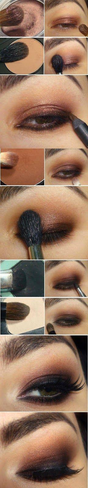 Super Basic Black and Brown Neutral Makeup Tutorials