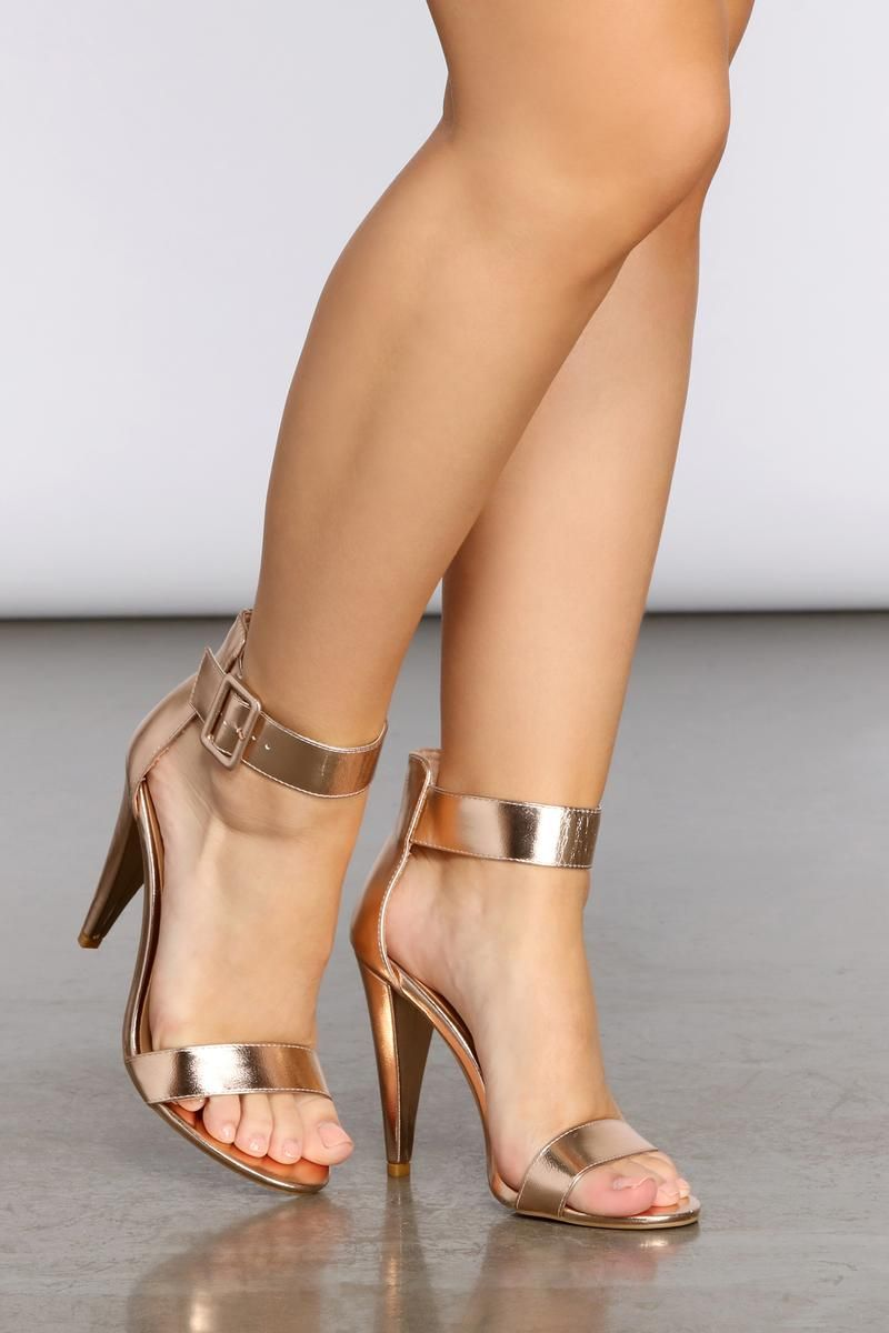 Penelope Ankle Strap Heels in 2020   Black ankle strap