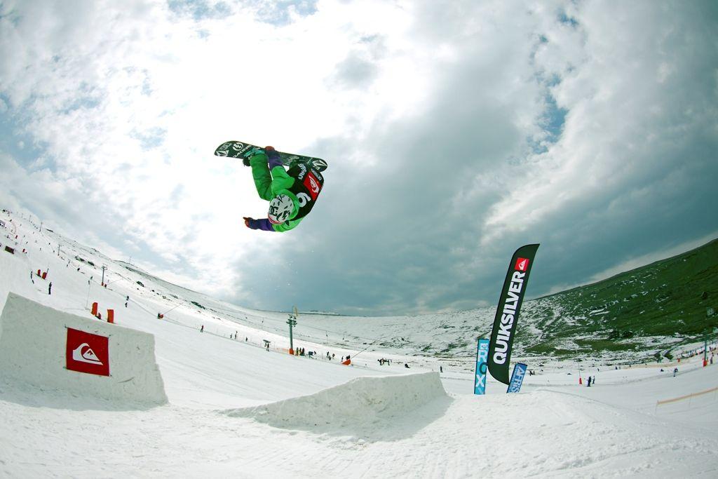 extreme sports in our snow park at Afriski. Mountain