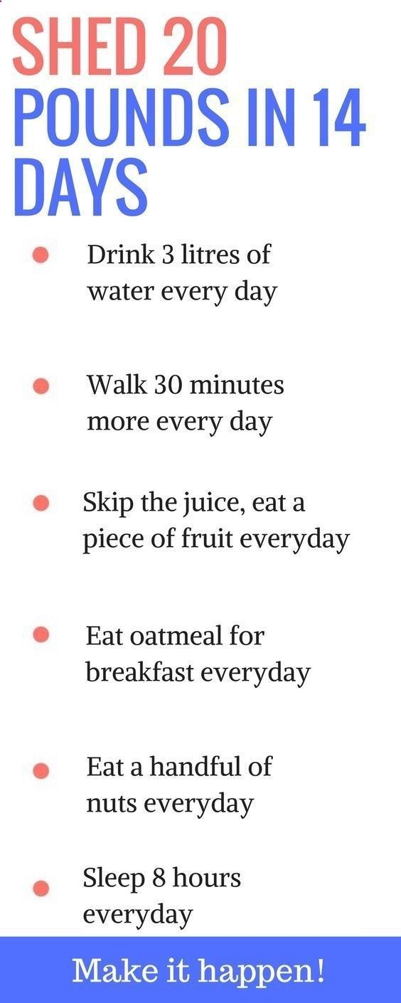 diet to lose 10 pounds in one week