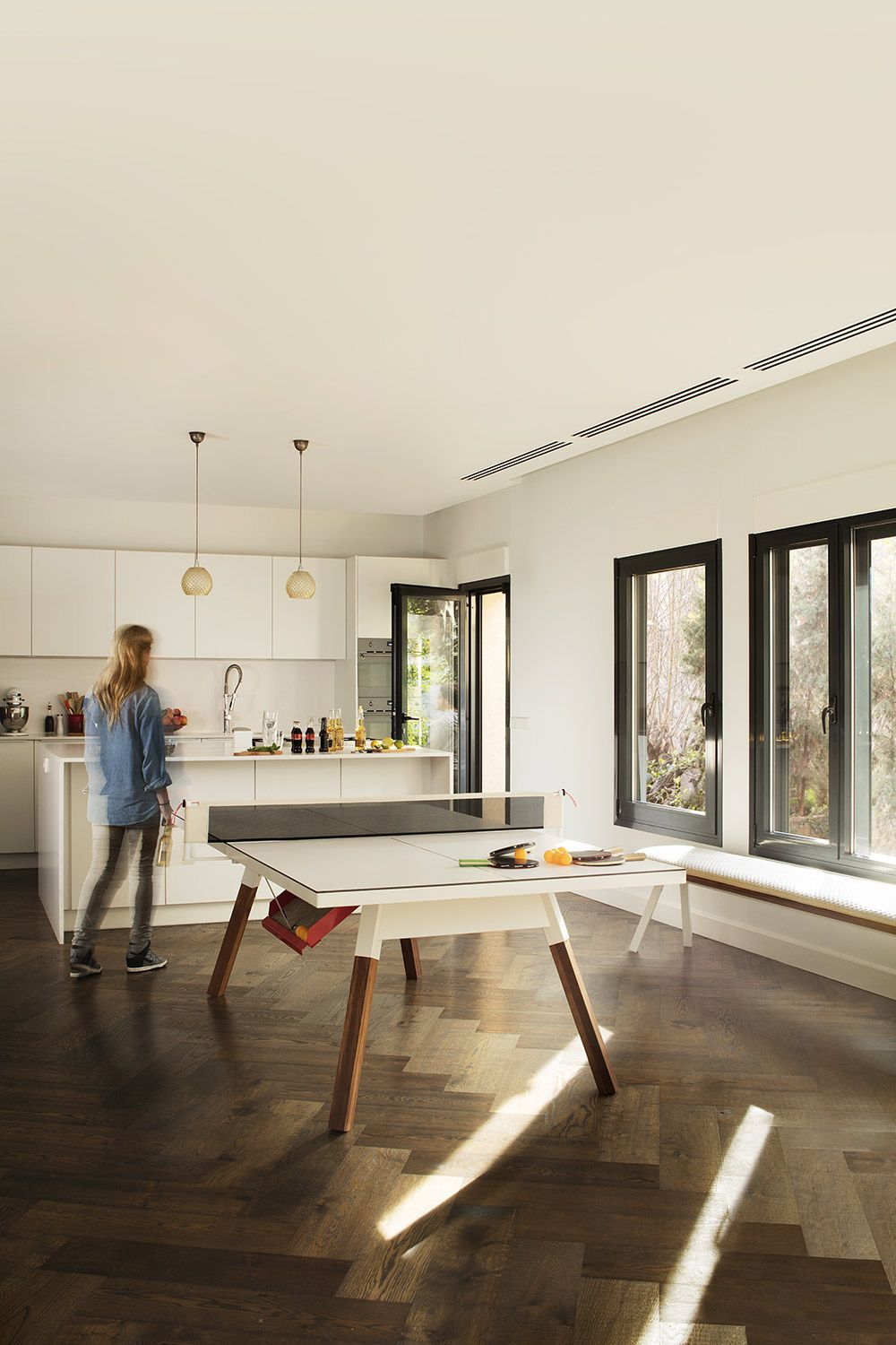 Dining Table Ping Pong In One On Behance