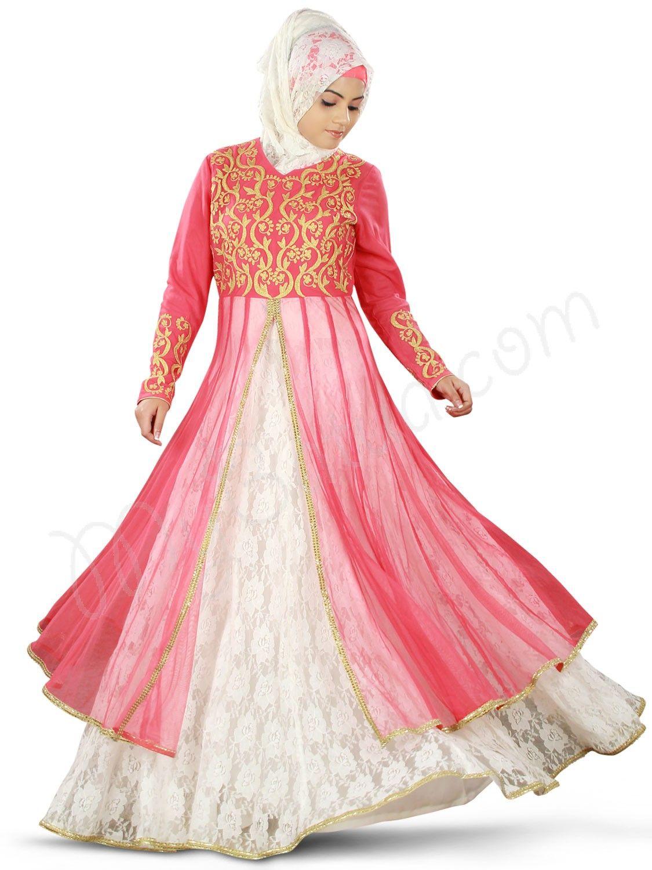 Mehjabeen Abaya - Muslim Wedding Dress | http://muslimbridalshop.com ...