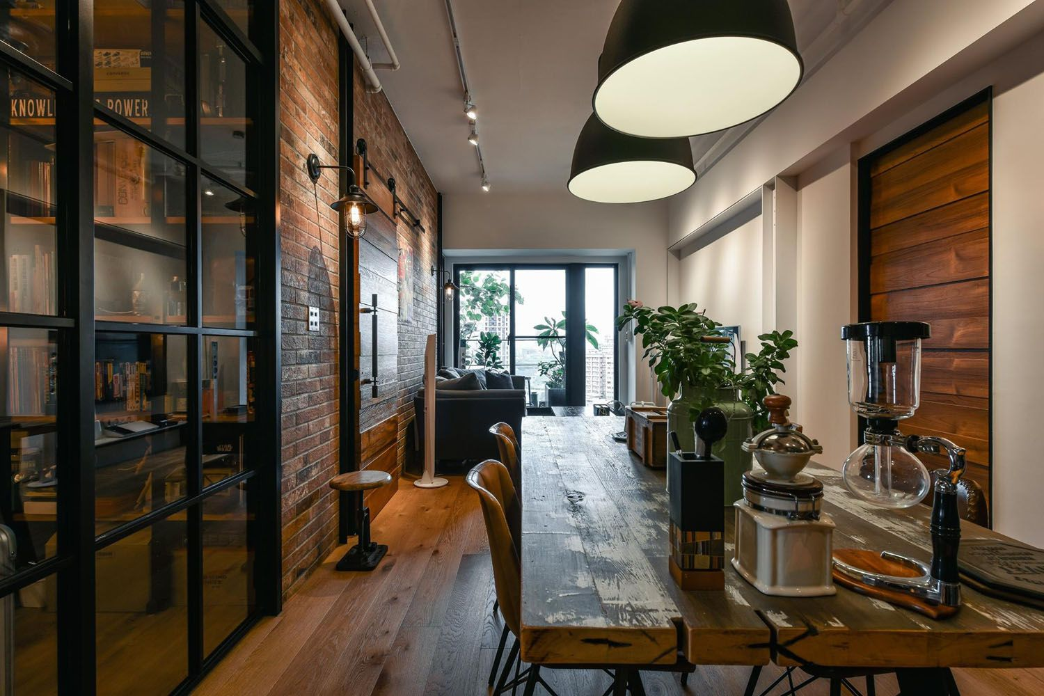 Charming Industrial Loft In New Taipei City