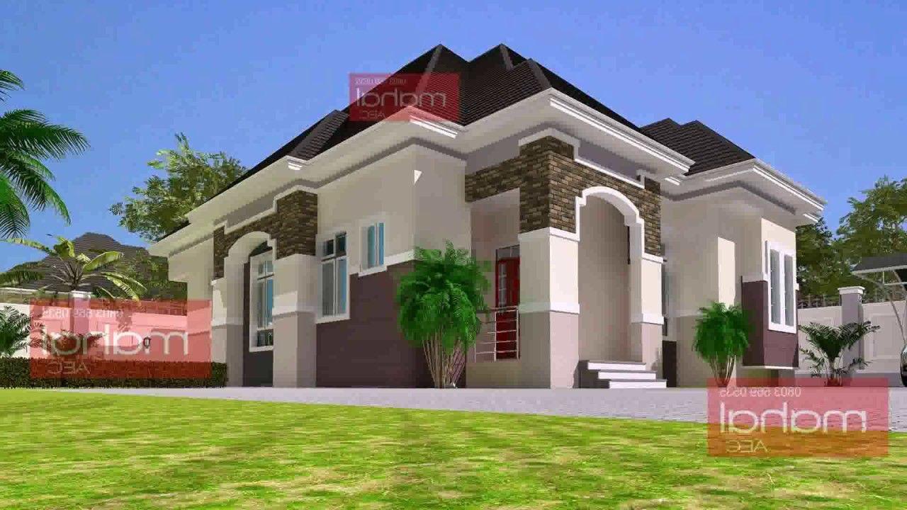 3 Bedroom Bungalow Design In Nigeria Bungalow Design Bungalow House Plans Four Bedroom House Plans