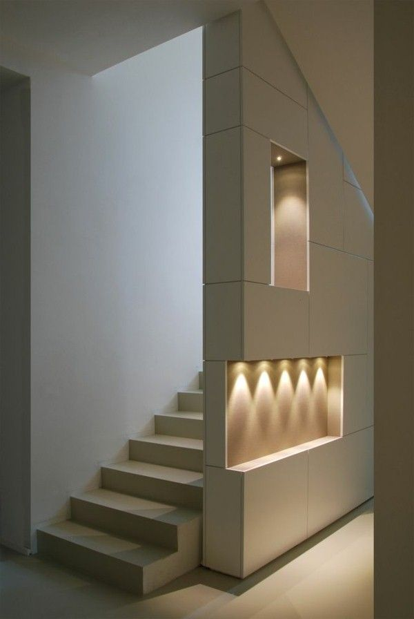 Stairway Lighting Ideasu2013 If You Wish To Include Significant Components To  Your Staircase, You Might Be Searching For Some Staircase Lighting Concepts  To ...