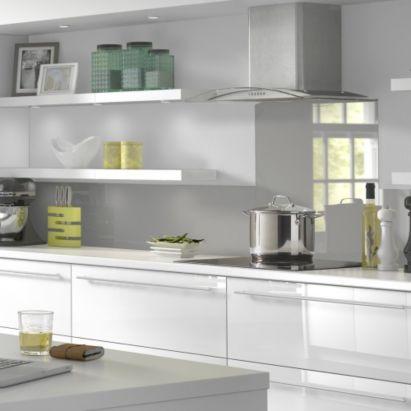 Best Vistelle Kitchen Splashback 2070 X 500 X 4Mm Grey 400 x 300