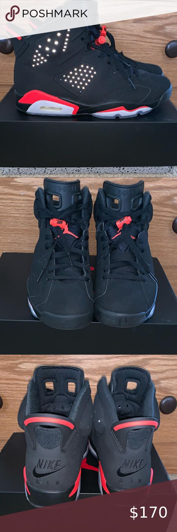 Air Jordan 6s Retro Black Infrared