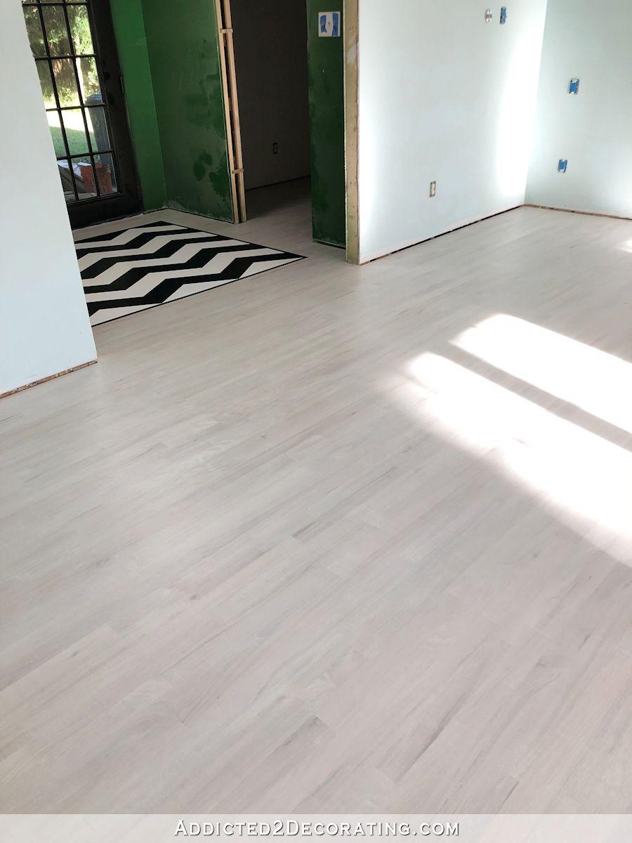 Diy Whitewashed Red Oak Hardwood Floors