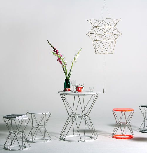 Anne Boenisch: functional and sculptural home furnishings