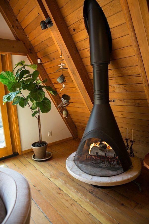 Einrichtungsideen Wohnzimmer Landhausstil Wohnzimmermobel Holz Kamin