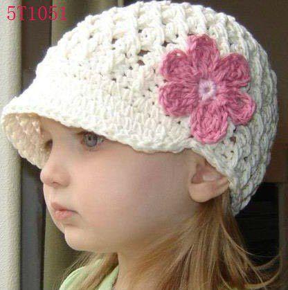 Gorros niñas crochet patron - Imagui  a06269cd697