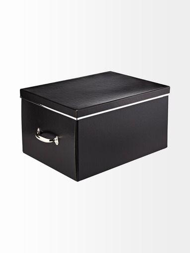 Stockmann - Kierrätetystä kartongista valmistettu säilytyslaatikko on kaunis ja kätevä tapa säilöä tavaroita kotona ja toimistoympäristössä. Laatikossa on metalliset kahvat...