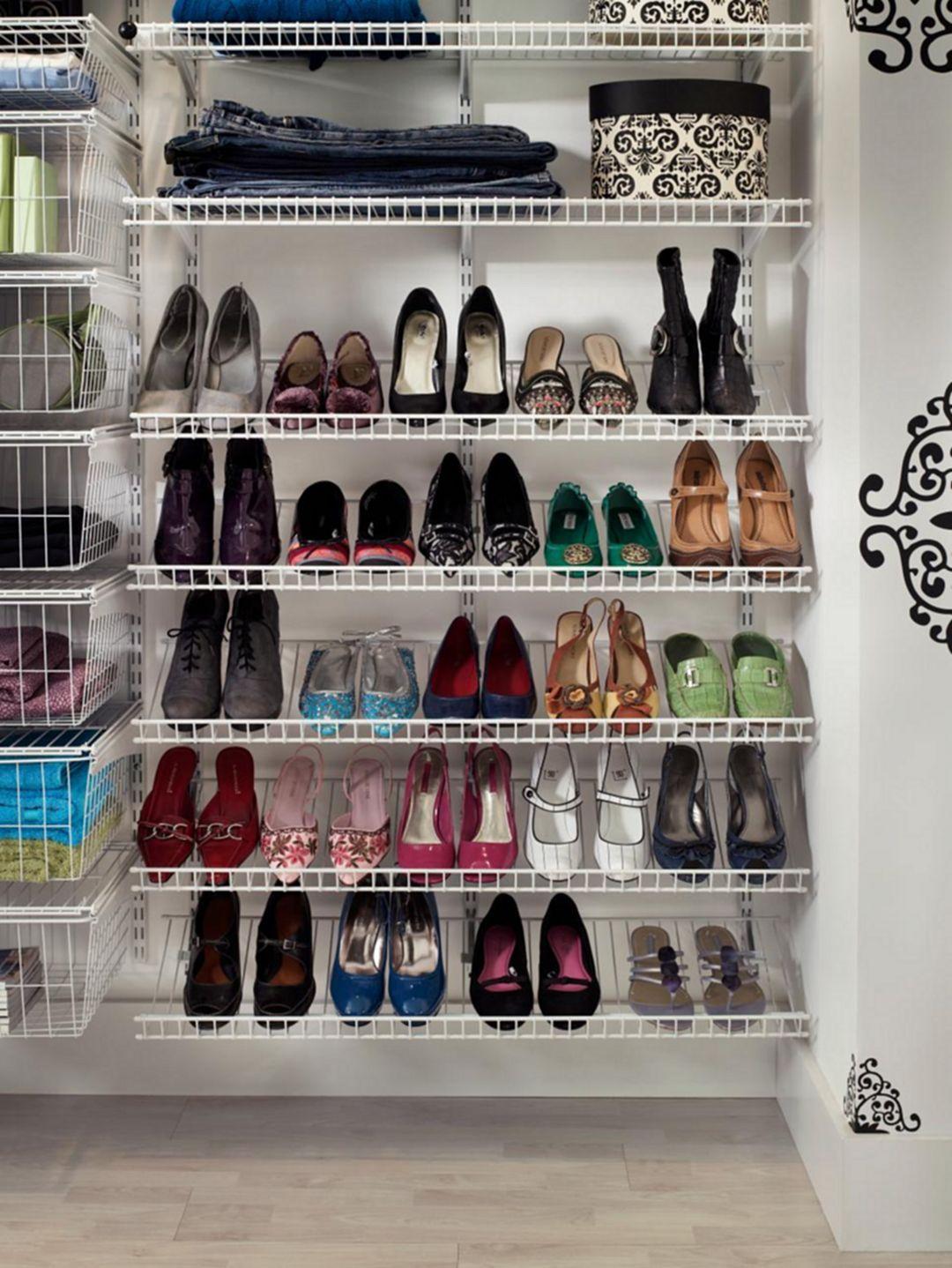 20+ Creative Shoe Storage Ideas On A budget | Creative shoes ...