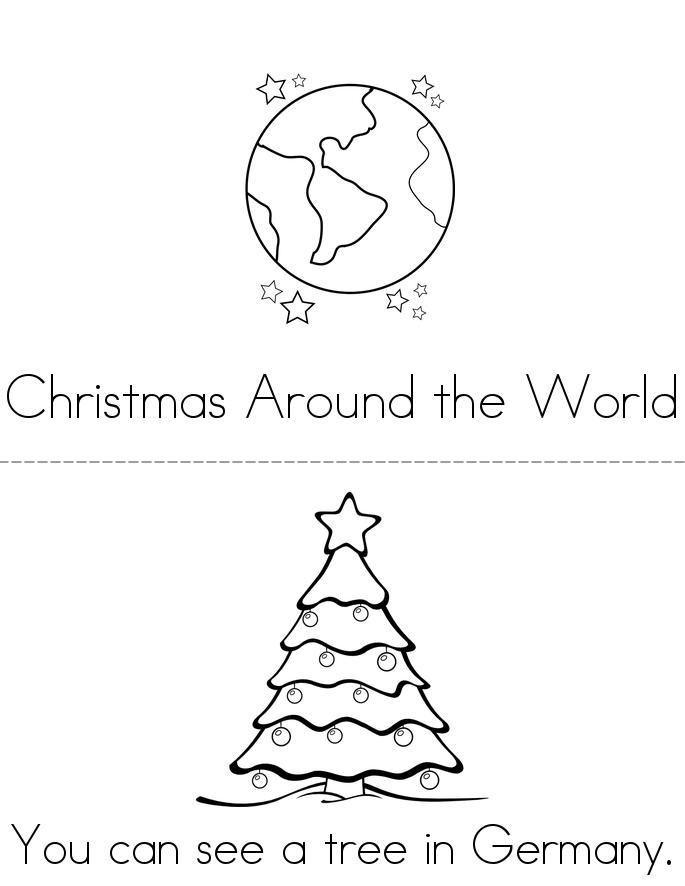 Christmas Around the World Book - Twisty Noodle ...