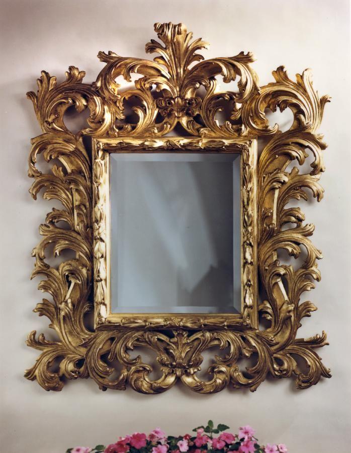 Baroque Mirror Carvers Guild Temple Baroque Mirror