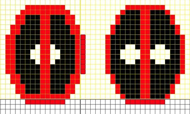 7 Deadpool Knitting Patterns Knitting Pinterest Deadpool