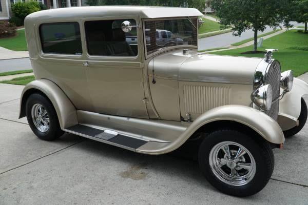 1928 Ford Model A (GA) - $24,900 Contact: Ricardo 773-892-5045