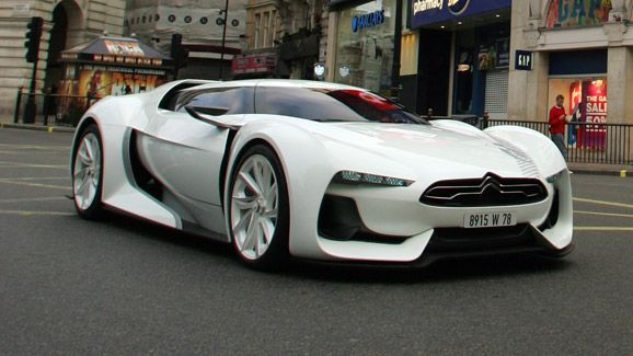 citroen gt saw this one in paris in very nice citroen. Black Bedroom Furniture Sets. Home Design Ideas