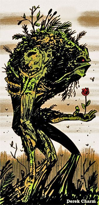 Swamp Thing by Derek Charm #swampthing #dccomics #comic #swampthing Swamp Thing by Derek Charm #swampthing #dccomics #comic #swampthing