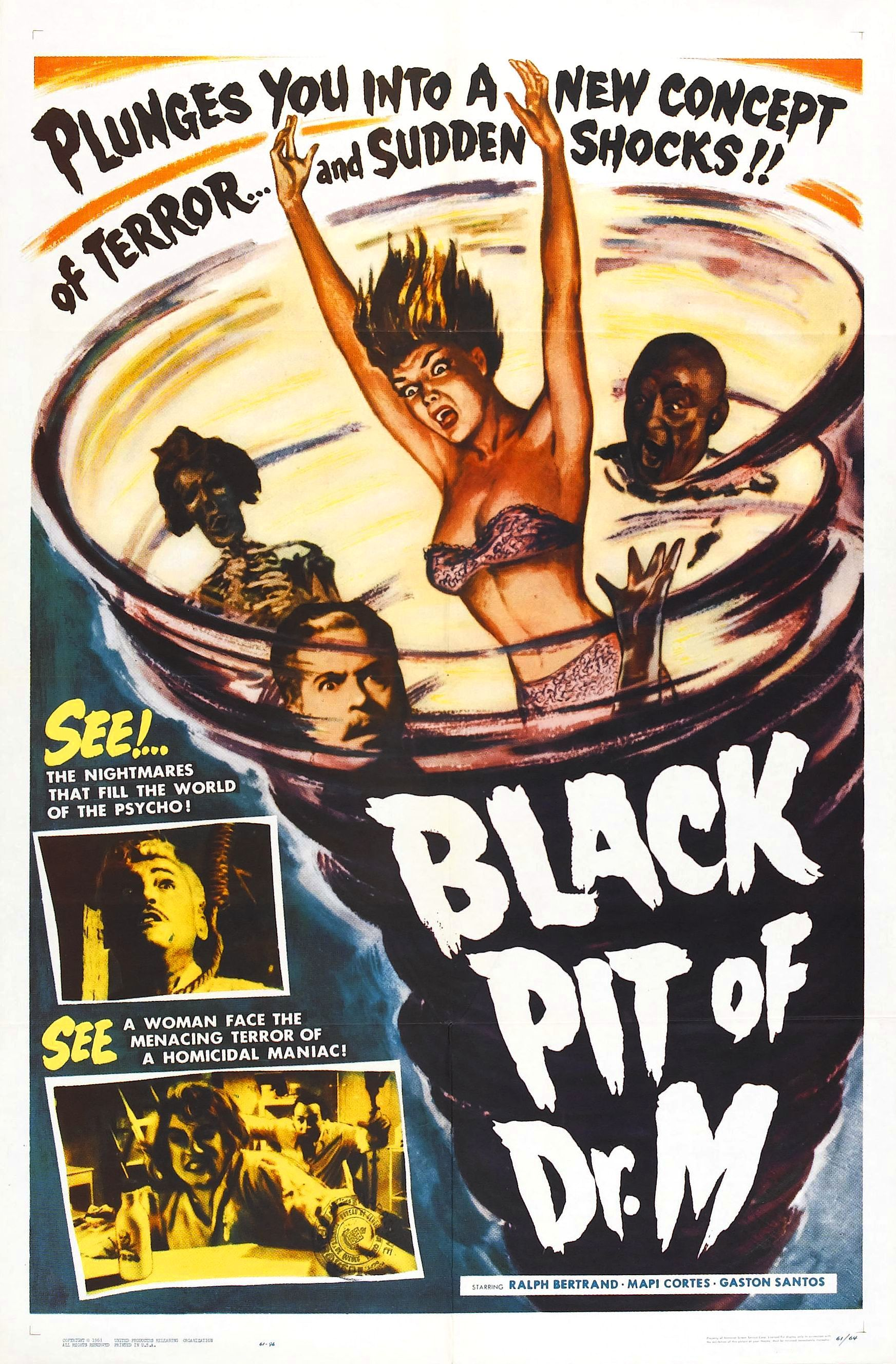 Watch The Black Pit of Dr. M Full-Movie Streaming