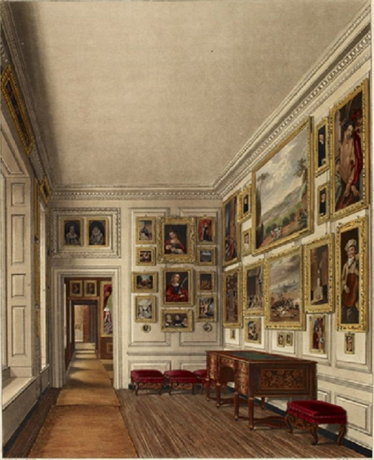 The Queen's Closet In Kensington Palace
