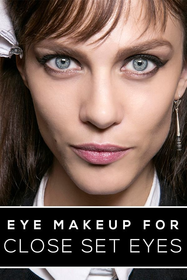 The Best Makeup For Your Eye Shape Pinterest Makeup Eye And Eye