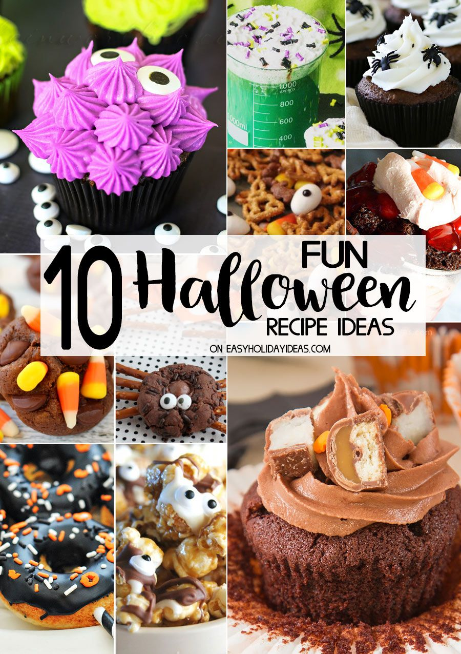 10 FUN Halloween Recipe Ideas so clever for parties, family meals ...