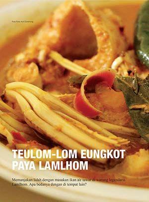 Teulom Lom Eungkot Paya Lamlhom Atjehpost Masakan Resep Masakan Resep