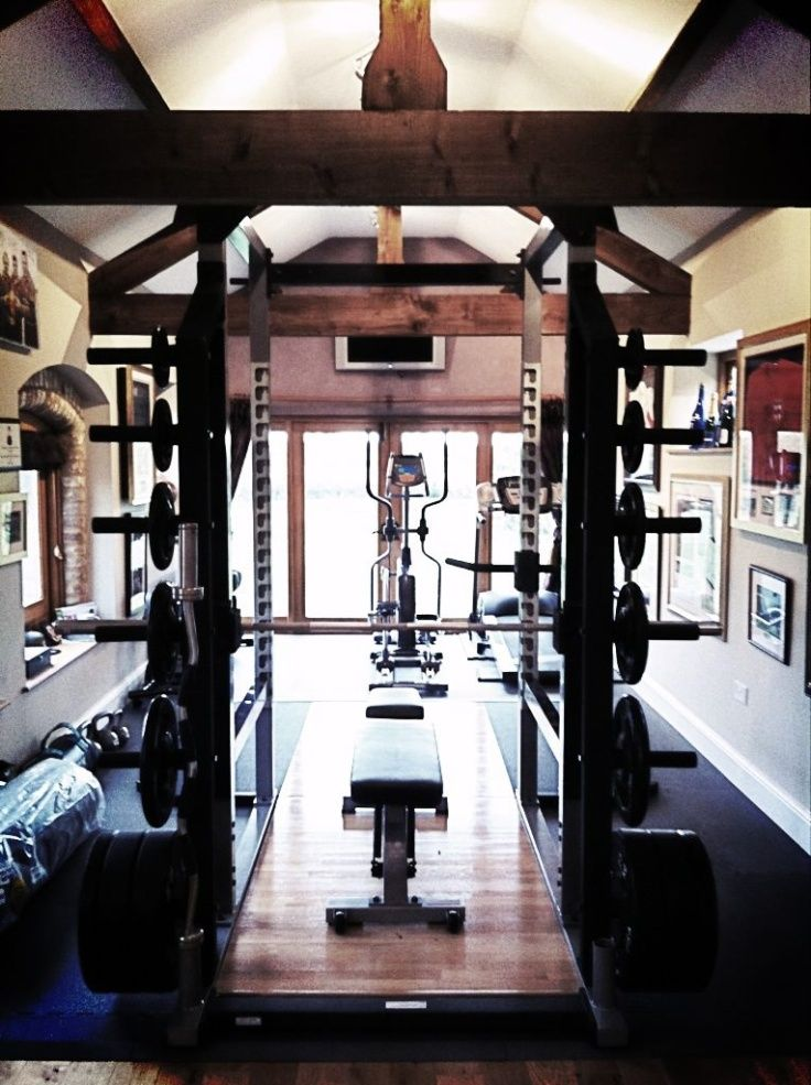58 Well Equipped Home Gym Design Ideas | DigsDigs | Home Sweet Home ...