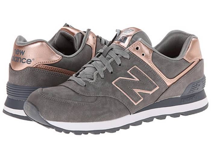 New Balance Classics WL574 Women's LifeStyle Running Shoes Silver Gray