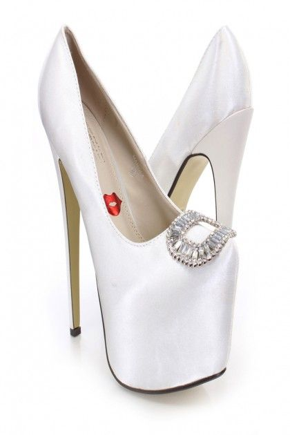 IVORY SATIN Block Heel Sandals with Tulle Bow, Flower Girls Sandals - Kailee P. Inc.