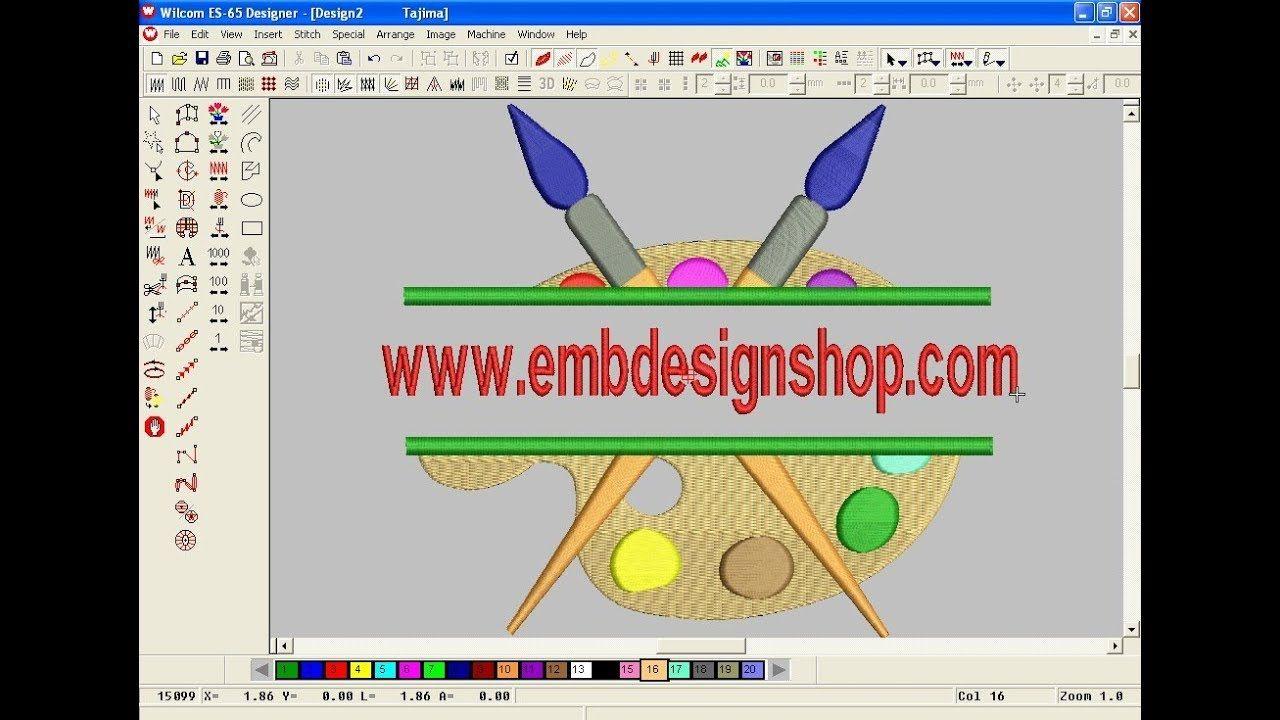 Wilcom Emboridery Design Tutorel Computer Embroidery Design Embroi Tự Lam Thủ Cong