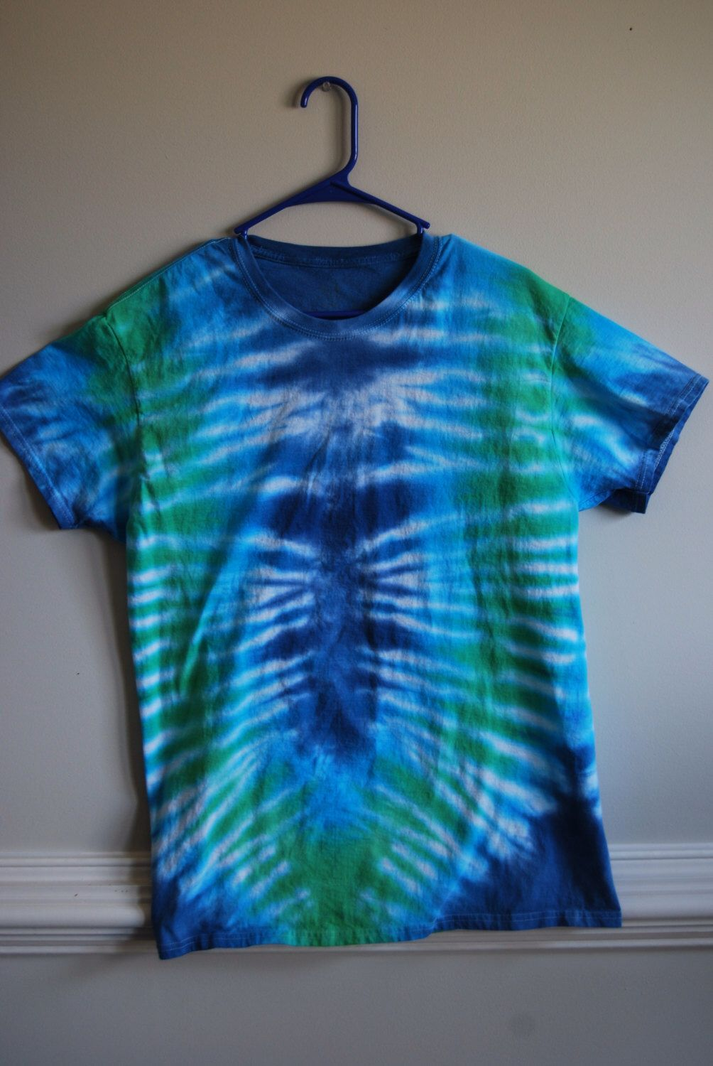 0e50ce30574d Tie dye t-shirt for  15! Unique pleated pattern in a size large!