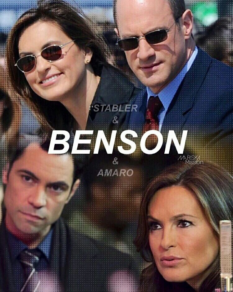 Never did care for the idea of Amaro and Benson being together