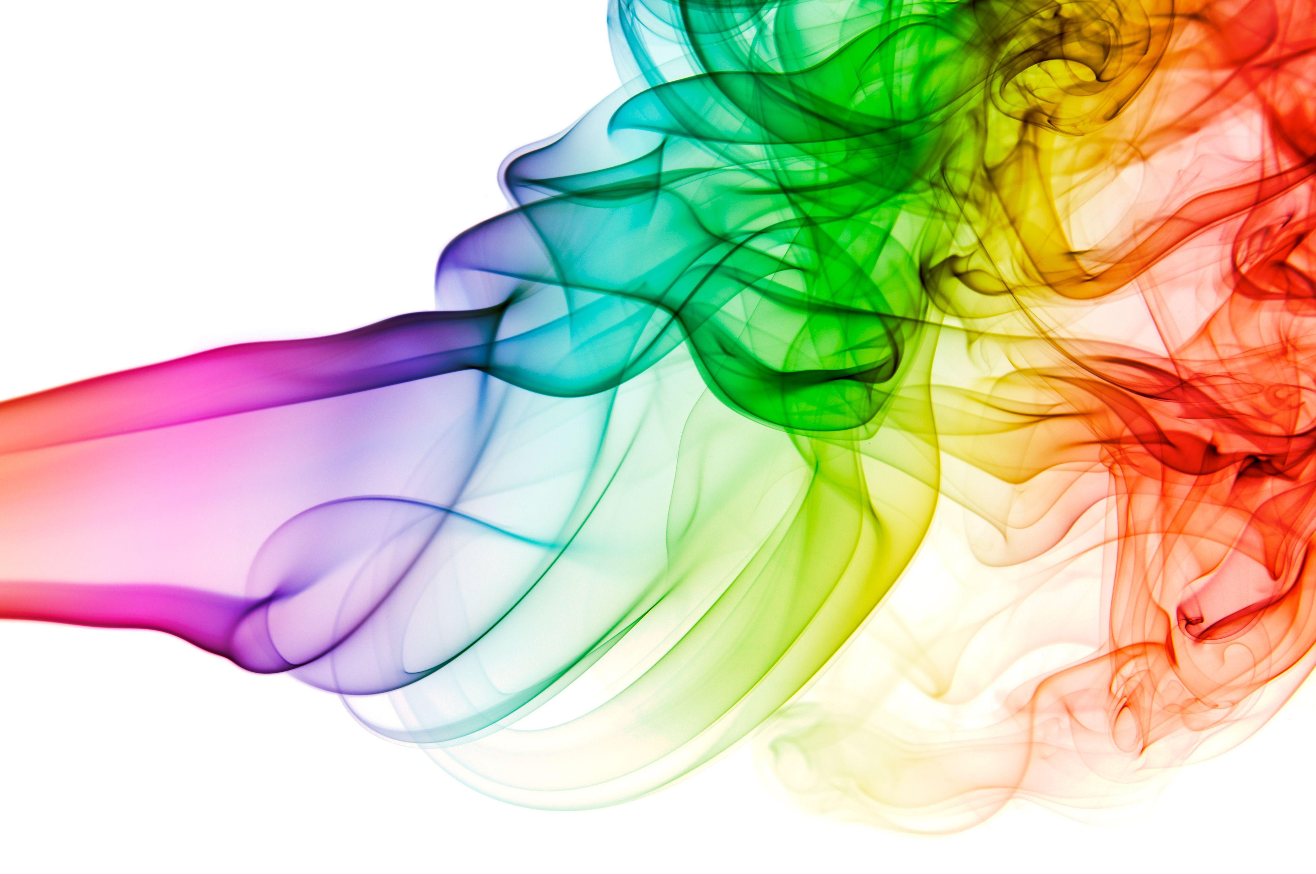 Rainbow Smoke Wallpaper Hd E Pinterest Smoke Wallpaper Smoke